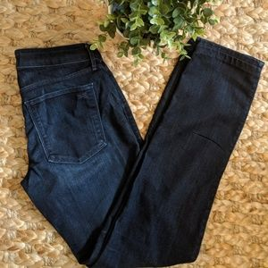Habitual Navy Rapture Straight Leg Jeans Size 25